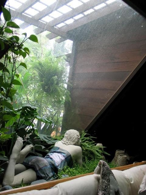 brick garden sculptures stone and brick can make a modern garden malaysia premier