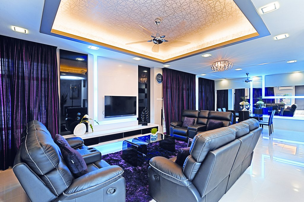 Ultra cool klang house malaysia premier property and Interior design idea for semi d house