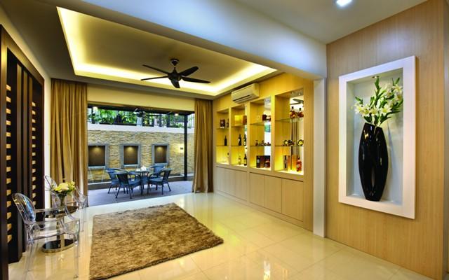 spacious living at aman sari puchong malaysia premier