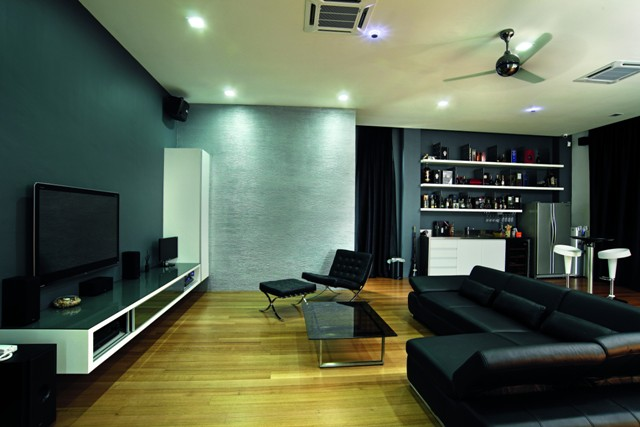 The Entertainment Room.