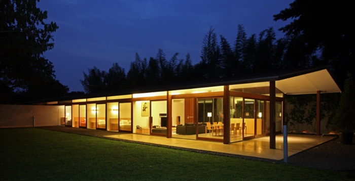 Nature And Minimalist Modernism Come Together In West Java