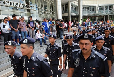 Image result for police at klcc