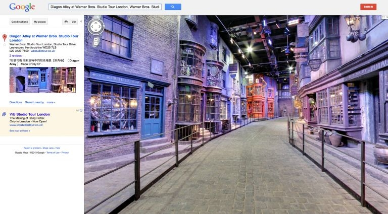 harry potter google