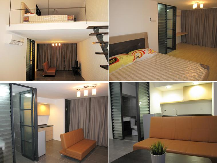 Studio Apartment Empire Damansara fully furnished duplex sohos in empire damansara - malaysia