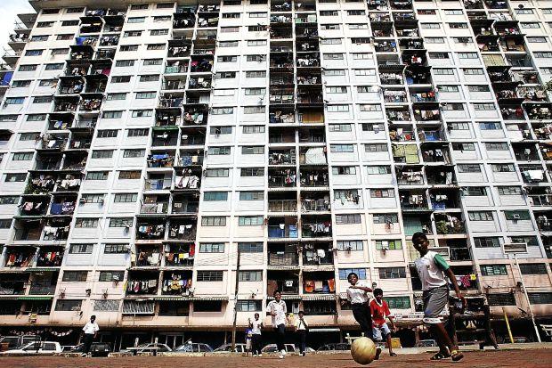 In its former glory: When the Pekeliling Flats, or Tunku Abdul Rahman