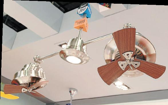 Expo to feature energy efficient fans and heaters malaysia premier latest products the axon 2 ceiling fan at the exhibition aloadofball Image collections
