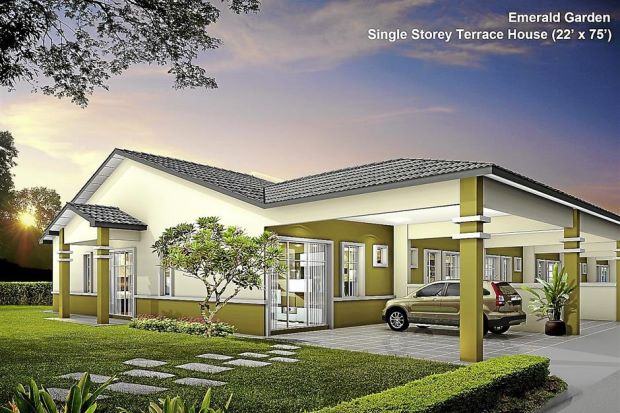 Lbs Bina Group To Build 2 300 Units Of Single Storey