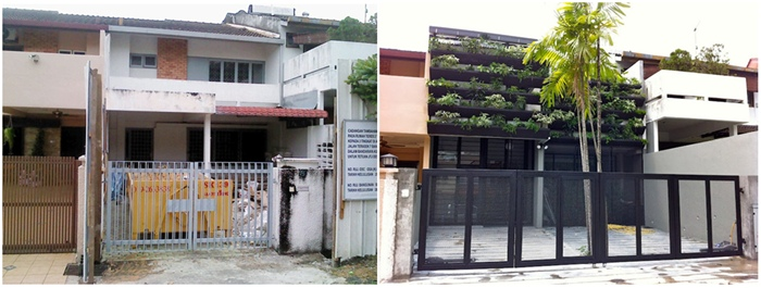 Urban terrace transformation malaysia premier property for Classic house kl