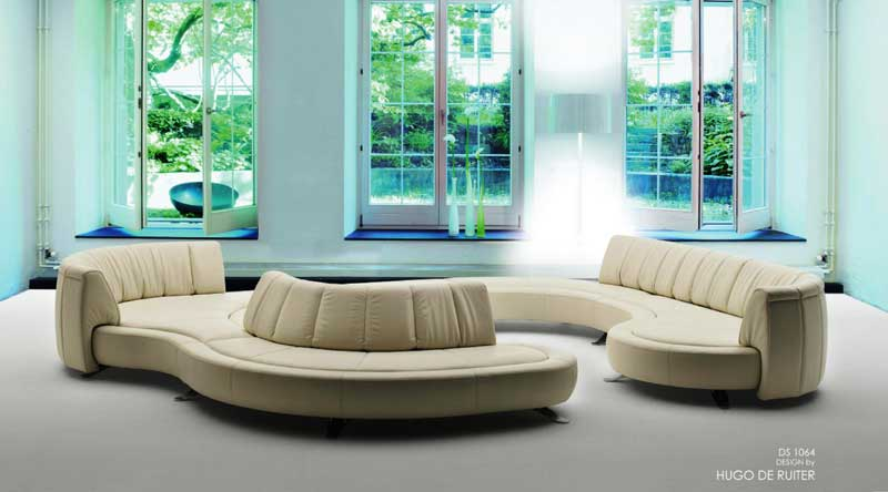 The De Sede DS 1064, With Backrests That Can Be Easily Adjusted To  Virtually Any Desired Position.