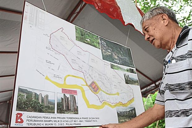 Units priced from RM292,000 to RM390,000 will be built in Paya Terubong