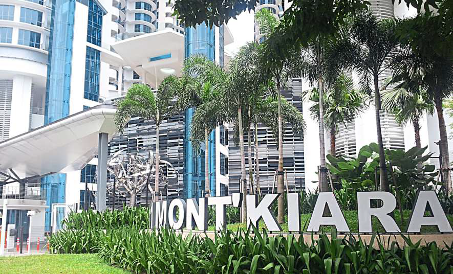 The new condos in Mont'kiara were priced based on the price range of existing two-storey terrace houses in Sri Hartamas/Desa Hartamas which were no longer being built due to land shortage.