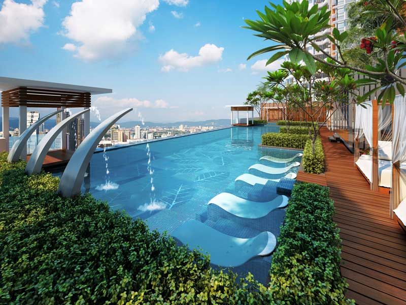 A self sustaining lifestyle at tiara mutiara 2 for Self sustaining pool