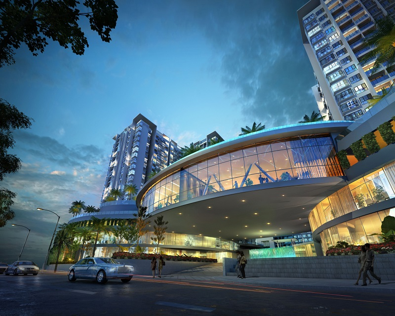 Penang WorldCity is set to be a thriving, recreational and commercial centre.