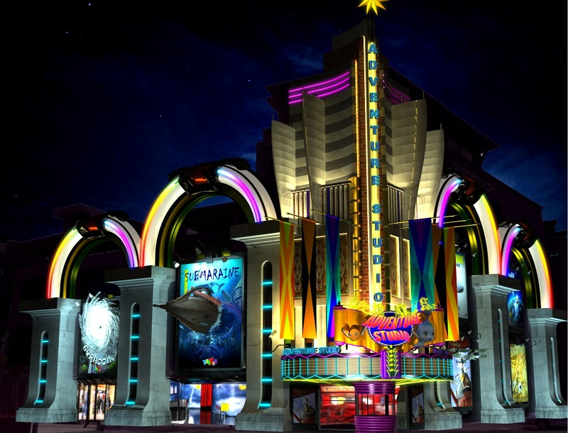 Adventure Studio, a new attraction in i-City that will be introduced early next month.