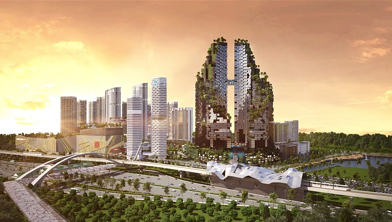 The RM7bil i-City ultrapolis is poised to be an international business hub by day and lifestyle haven by night.