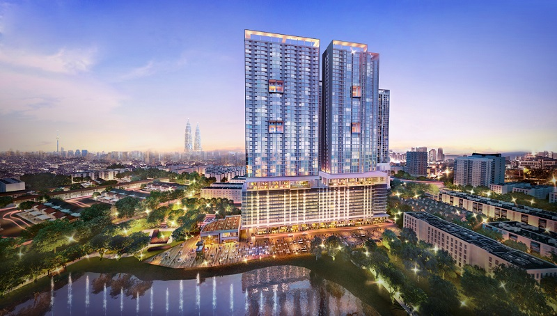 The 28 Boulevard development in Pandan Perdana.