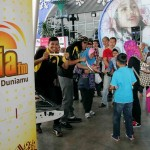 The Suria FM booth with its fun games and activities attracted plenty of visitors.
