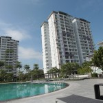 MJC's SkyVilla condominium project at the new township in Kuching that will be promoted this weekend.