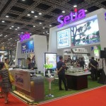 The Setia booth at Starproperty.my Fair 2014 in Kuala Lumpur Convention Centre.