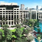 The Siam Kempinski Hotel Bangkok in Thailand. The European hotel chain is famous for its service and attention to detail, as well as interiors which are adapted to each city differently.