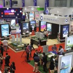Good start: It was a hive of activity on the opening day of the fair at Kuala Lumpur Convention Centre.