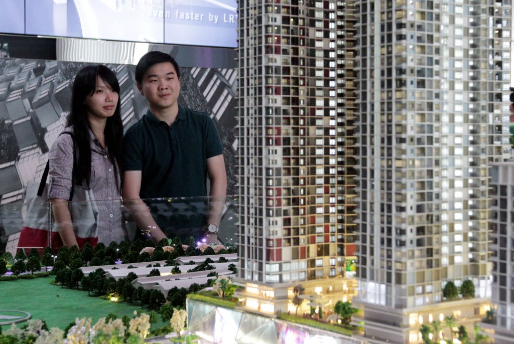 Millennials showing interest in property investment.