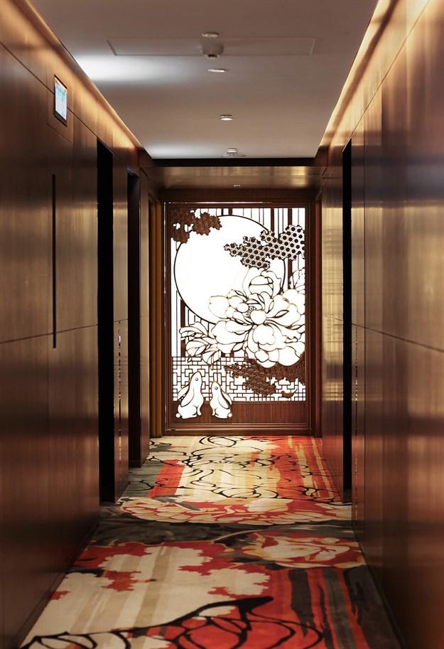 Room corridors.