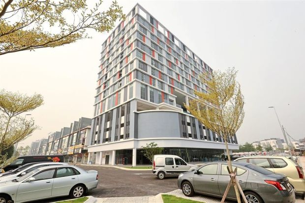 KIP Hotel KL is in the commercial district of Sri Utara in Jalan Kuching.