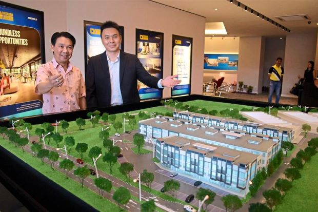 Dataran Larkin commercial hub profiting from its strategic location